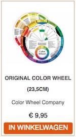 Moeite met kleurtheorie? Bestel hier uw kleurenwiel!