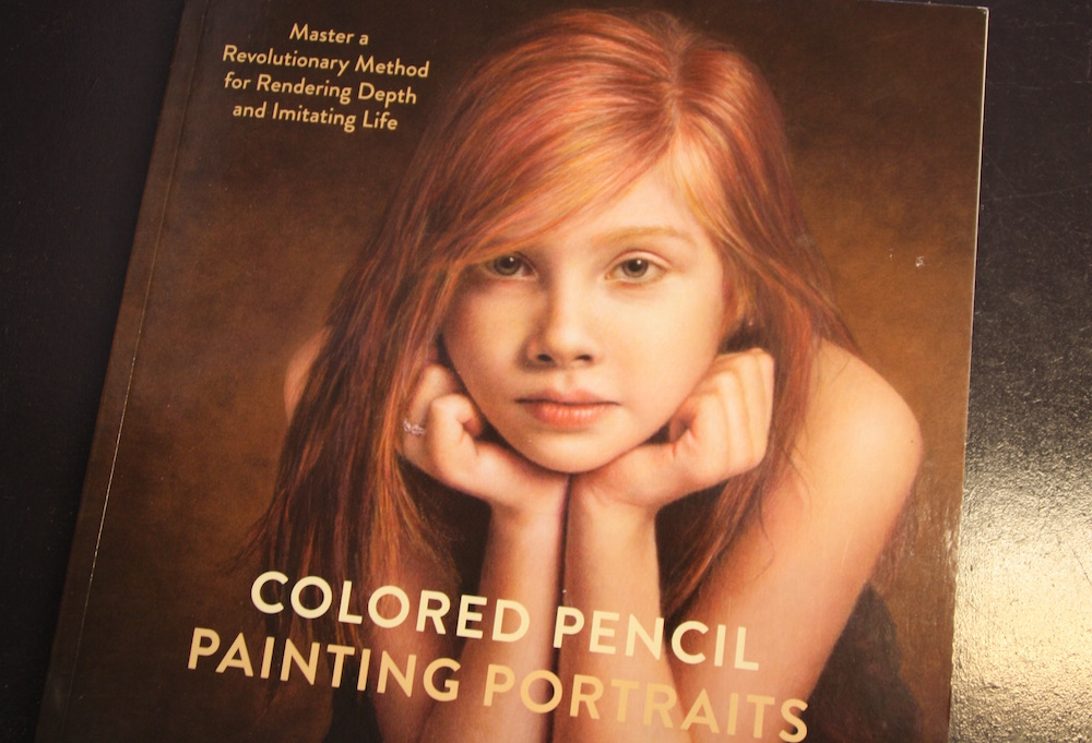BOEK REVIEW: COLORED PENCIL PAINTING PORTRAITS