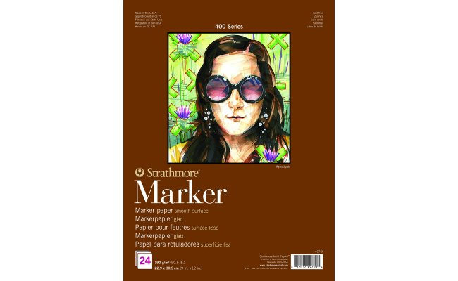 Review Strathmore Series 400 Marker Papier