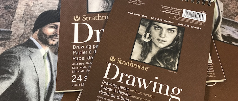 PAPIER VOOR GRAFIET: STRATHMORE DRAWING 400 SERIES