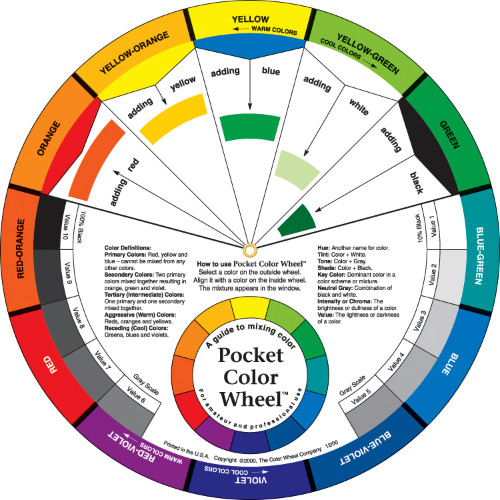 Color Wheel Pdf Www Imagenesmi Com