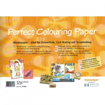 A4 50vel 250g Perfect Colouring Paper