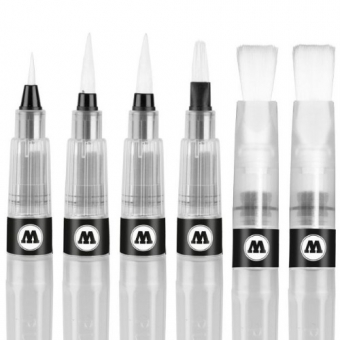 Set 6 Squeeze Pens - Water Brush